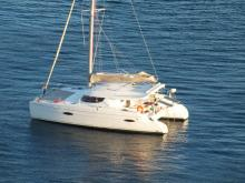 Fountaine Pajot Lipari 41 : At anchor at Les Saintes